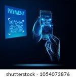 design payment   online... | Shutterstock .eps vector #1054073876
