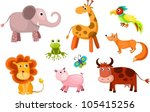 vector illustration of a... | Shutterstock .eps vector #105415256