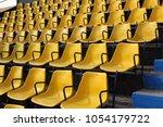 Yellow Grandstand Stadium