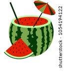 Watermelon Juice In A Cut...