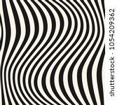 vertical curved wavy lines... | Shutterstock . vector #1054209362