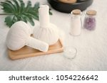 spa accessories still life with ... | Shutterstock . vector #1054226642