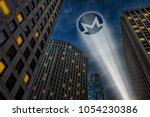 monero cryptocurrency ...   Shutterstock . vector #1054230386