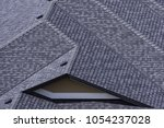 rooftop in a newly constructed...   Shutterstock . vector #1054237028