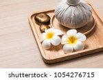 spa concept background. | Shutterstock . vector #1054276715