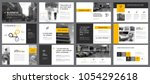 yellow  white and black... | Shutterstock .eps vector #1054292618