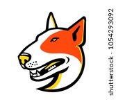mascot icon illustration of... | Shutterstock .eps vector #1054293092