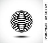 abstract design element  sign ...   Shutterstock .eps vector #1054311125