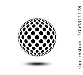 abstract design element  sign ...   Shutterstock .eps vector #1054311128
