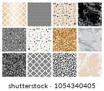 marble collection. set of... | Shutterstock .eps vector #1054340405
