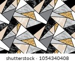 marble seamless background with ... | Shutterstock .eps vector #1054340408
