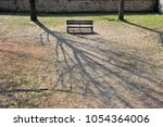 the shadows of trees and the...   Shutterstock . vector #1054364006