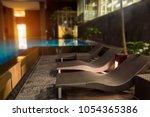 romantic evening mood lighting...   Shutterstock . vector #1054365386