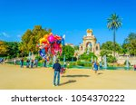 barcelona  spain  october 26... | Shutterstock . vector #1054370222
