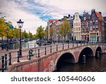Beautiful View Of Amsterdam...