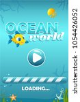 vector match three ocean world...