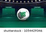 soccer championship league ... | Shutterstock .eps vector #1054429346