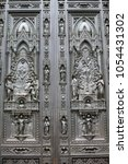 Door Of Cathedral Of Santa...