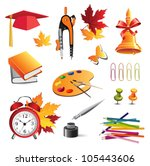 school | Shutterstock .eps vector #105443606