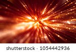 abstract red bokeh circles on a ... | Shutterstock . vector #1054442936