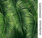 beautiful floral summer pattern ... | Shutterstock .eps vector #1054443395