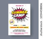Summer Camp Poster  Flyer Or...