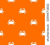 raw crab pattern repeat... | Shutterstock . vector #1054471832