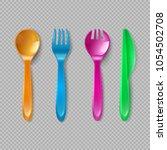 Kids Plastic Cutlery. Little...