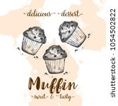 Poster With Muffins. Set Of...