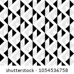abstract seamless pattern.... | Shutterstock .eps vector #1054536758