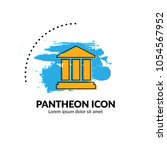 pantheon icon vector.can be...