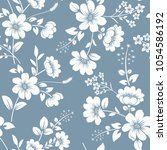 seamless gray blue and white... | Shutterstock .eps vector #1054586192