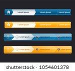 website design menu navigation...