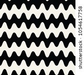 Abstract Wavy Stripes Seamless...