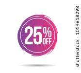 discount offer price label ... | Shutterstock .eps vector #1054618298