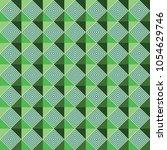 dizzy green hologram arabic... | Shutterstock .eps vector #1054629746
