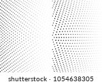 abstract halftone wave dotted... | Shutterstock .eps vector #1054638305