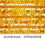 abstract pattern   retro mosaic ... | Shutterstock . vector #1054646048