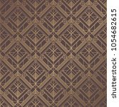 art deco pattern. seamless... | Shutterstock .eps vector #1054682615