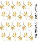 seamless background with wheat... | Shutterstock .eps vector #105469496