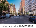 new york city  united states  ... | Shutterstock . vector #1054705232