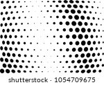 abstract halftone wave dotted... | Shutterstock .eps vector #1054709675