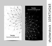 set of vertical banners.... | Shutterstock .eps vector #1054714265