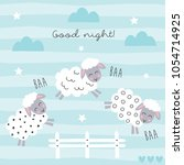 Good Night Sleep Cartoon Sheep...