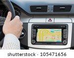 gps navigation in interior of... | Shutterstock . vector #105471656