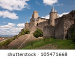 the castle | Shutterstock . vector #105471668