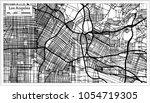 los angeles california usa city ... | Shutterstock .eps vector #1054719305