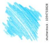 Blue Crayon Scribble Texture....