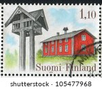 finland   circa 1979  stamp... | Shutterstock . vector #105477968