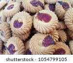 best cookies for packaging  | Shutterstock . vector #1054799105